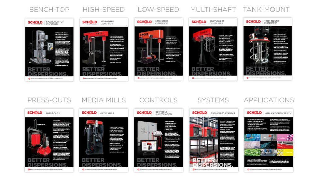Schold New Literature and Spec Sheets