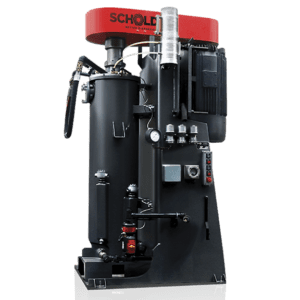 Schold vertical shot media mill