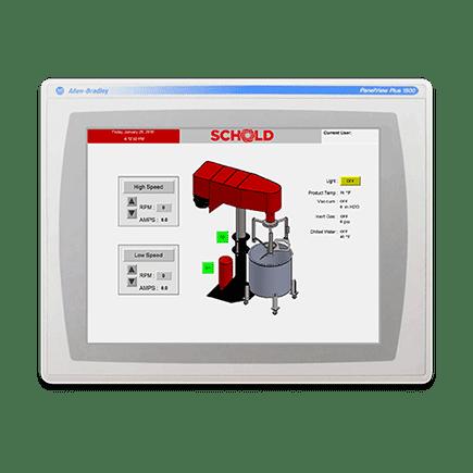 Schold Controls Screen