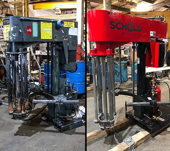 Refurbished Schold Machine