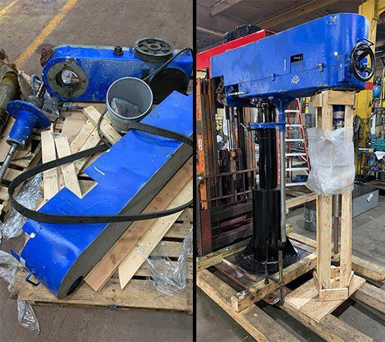 Refurbished Blue Schold Machine